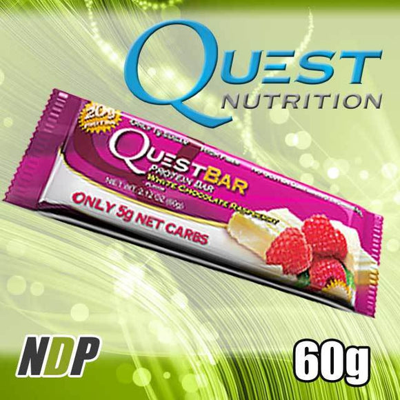 White Choc Raspberry /// Quest (60g)
