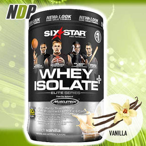 Six Star /// Whey Isolate - Vanilla (1.5lbs)