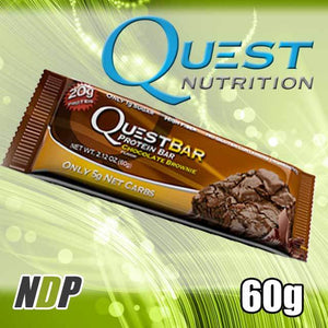 Choc Brownie /// Quest (60g)