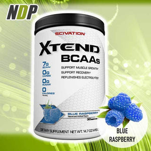 Scivation /// Xtend - Blue Raspberry (30 servings)