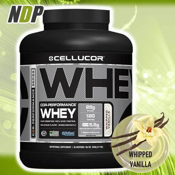Cellucor /// Whey - Vanilla (4lbs)