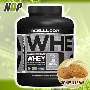 Cellucor /// Whey - Cookies (4lbs)