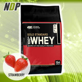 Optimum Nutrition /// Gold Standard Whey - Strawberry (10lbs)