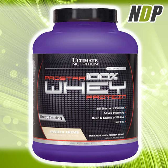 Ultimate Nutrition /// Prostar Whey (5.28lbs)
