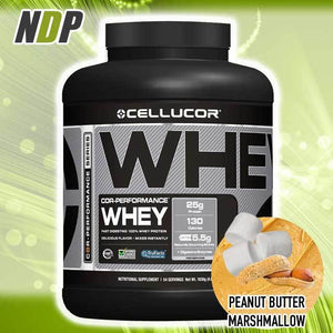 Cellucor /// Whey - PB Marshmallow (4lbs)
