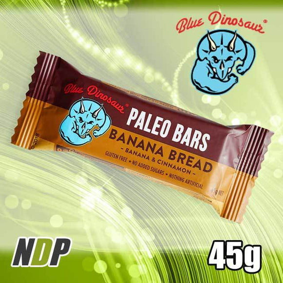 Banana Bread /// Paleo Bar - Blue Dinosaur (45g)