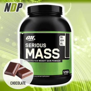 Optimum Nutrition /// Serious Mass - Choc (6lbs)
