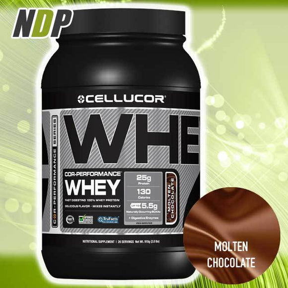 Cellucor /// Whey - Molten Choc (2lbs)