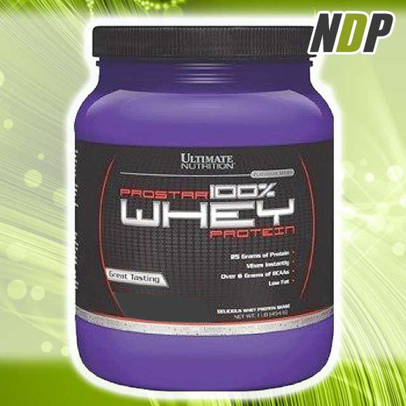 Ultimate Nutrition /// Prostar Whey (1lbs)