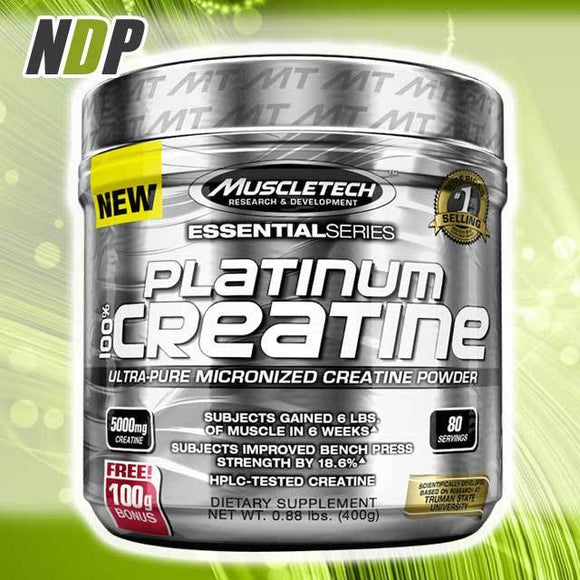 MuscleTech /// Platinum Creatine - (402g)