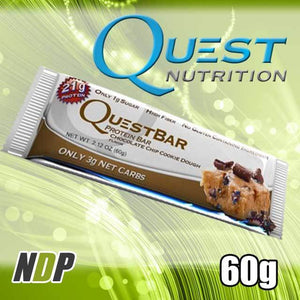 Choc Chip Cookie Dough /// Quest (60g)