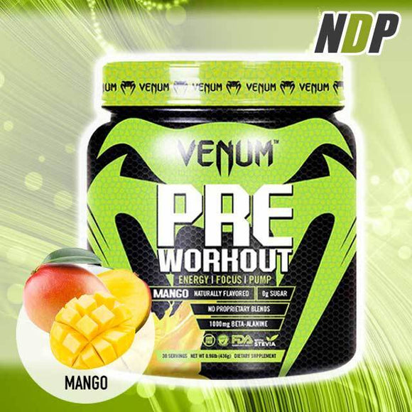 Venum /// Pre Workout - Mango (30 servings)
