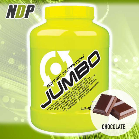 Scitec Nutrition /// Jumbo - Chocolate (10lb)