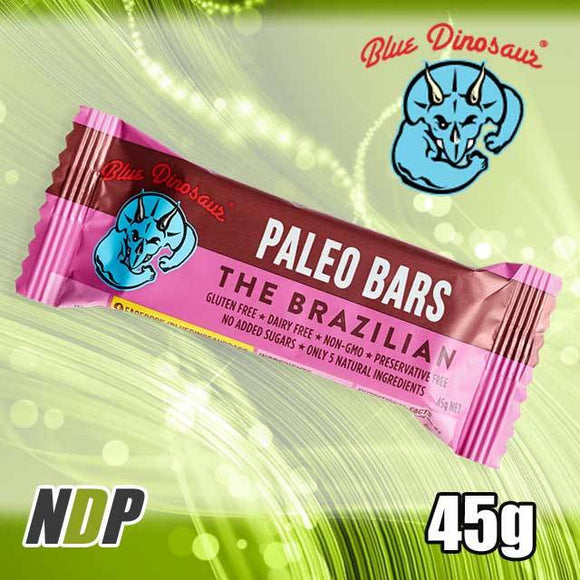 The Brazilian /// Paleo Bar - Blue Dinosaur (45g)