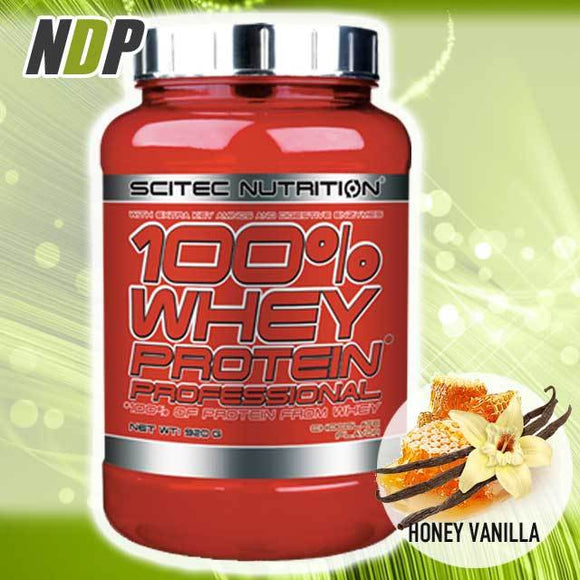 Scitec Nutrition /// 100% Whey - Honey Vanilla (2lb)
