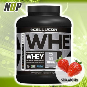 Cellucor /// Whey - Strawberry (4lbs)