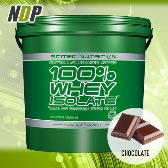 Scitec Nutrition /// 100% Isolate - Choc (9lb)