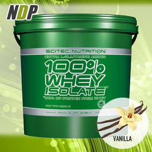 Scitec Nutrition /// 100% Isolate - Vanilla (9lb)