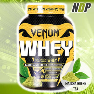 Venum /// Whey - Matcha Green Tea (4lb)