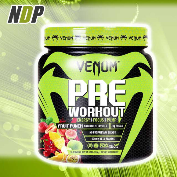 Venum /// Pre Workout - Fruit Punch (30 servings)