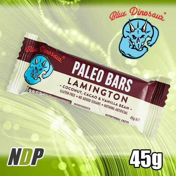 Lamington /// Paleo Bar - Blue Dinosaur (45g)