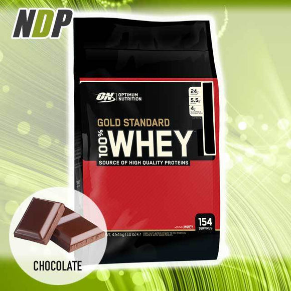 Optimum Nutrition /// Gold Standard Whey - Double Rich Choc (10lbs)
