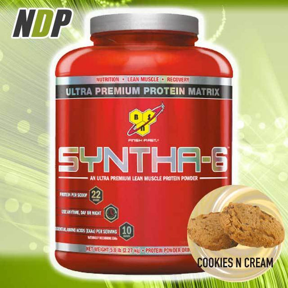 BSN /// Syntha-6 - Cookies & Cream (5lbs)