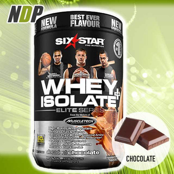 Six Star /// Whey Isolate - Choc (1.5lbs)
