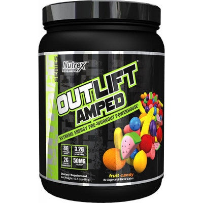 Nutrex /// Outlift Amped - Fruit Candy (20 Servings)