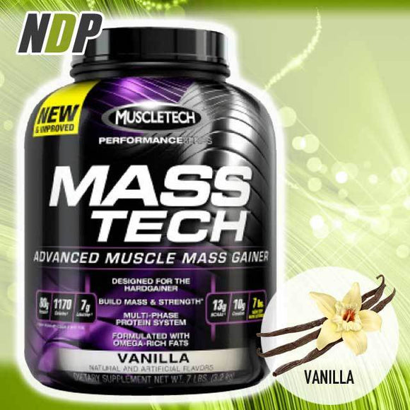 MuscleTech /// Mass Tech - Vanilla (7lbs)