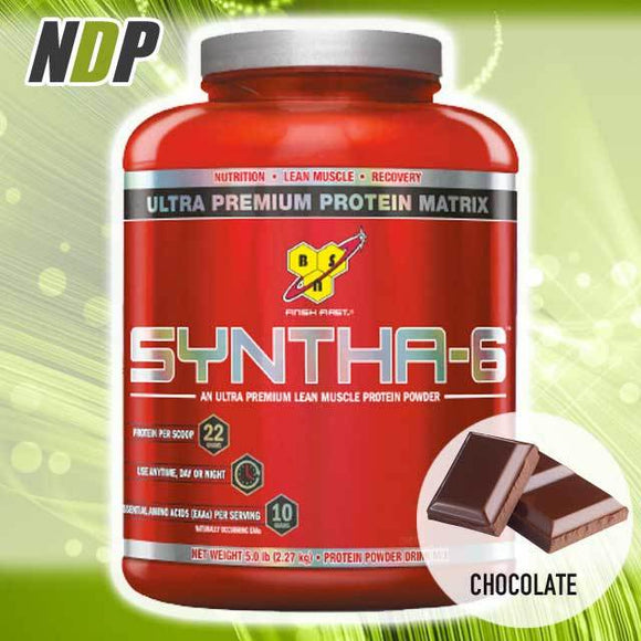 BSN /// Syntha-6 - Chocolate (5lbs)