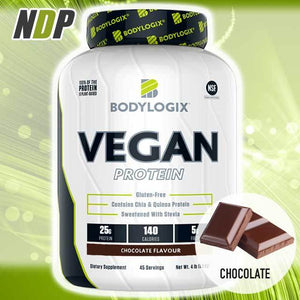 Bodylogix /// Vegan Protein - Chocolate (4lb)