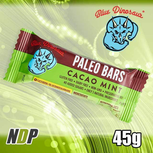 Cacao Mint /// Paleo Bar - Blue Dinosaur (45g)