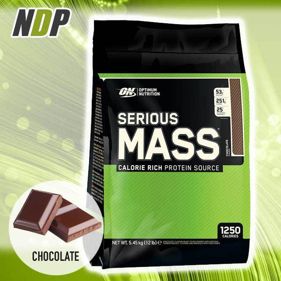 Optimum Nutrition /// Serious Mass - Choc (12lbs)