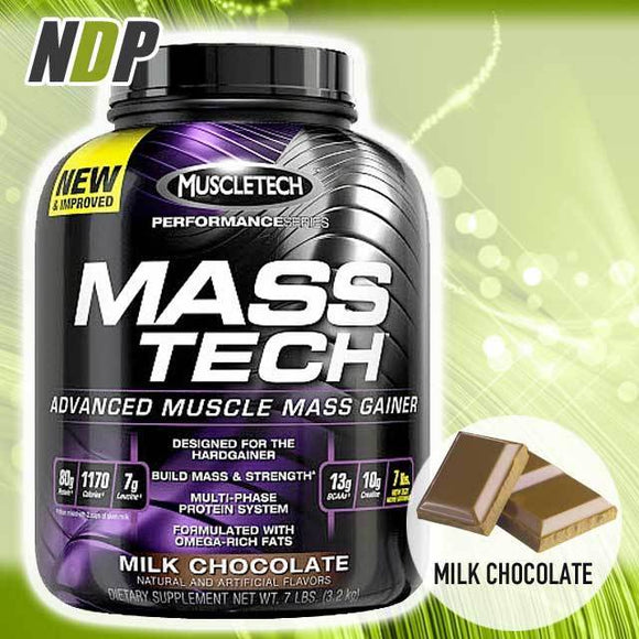 MuscleTech /// Mass Tech - Choc (7lbs)