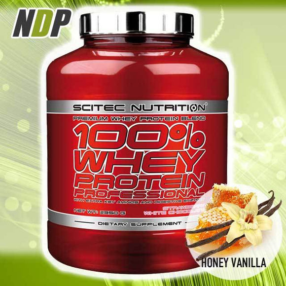 Scitec Nutrition /// 100% Whey - Honey Vanilla (5lb)