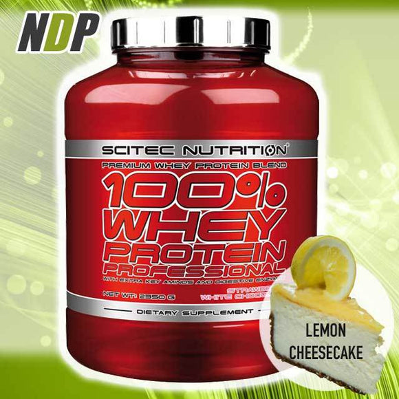 Scitec Nutrition /// 100% Whey - Lemon Cheesecake (5lb)