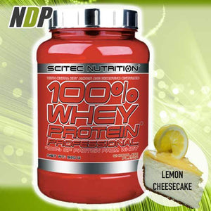 Scitec Nutrition /// 100% Whey - Lemon Cheesecake (2lb)