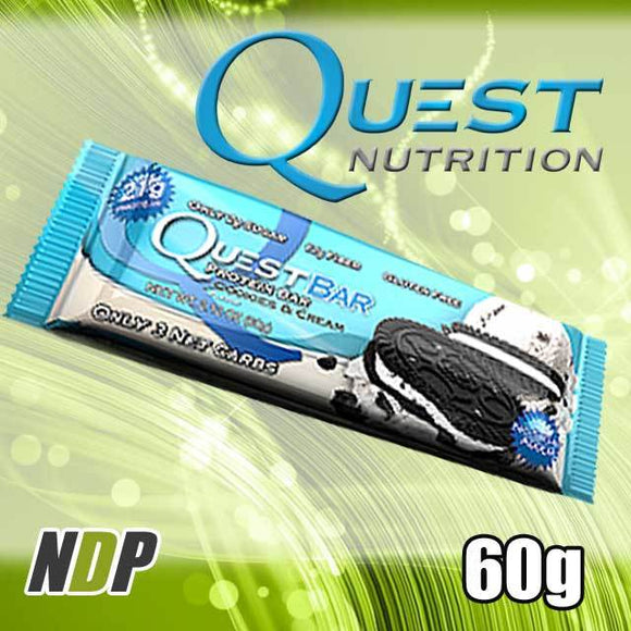 Cookies & Cream /// Quest (60g)