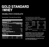 Optimum Nutrition /// Gold Standard Whey - Double Rich Choc (1lbs)