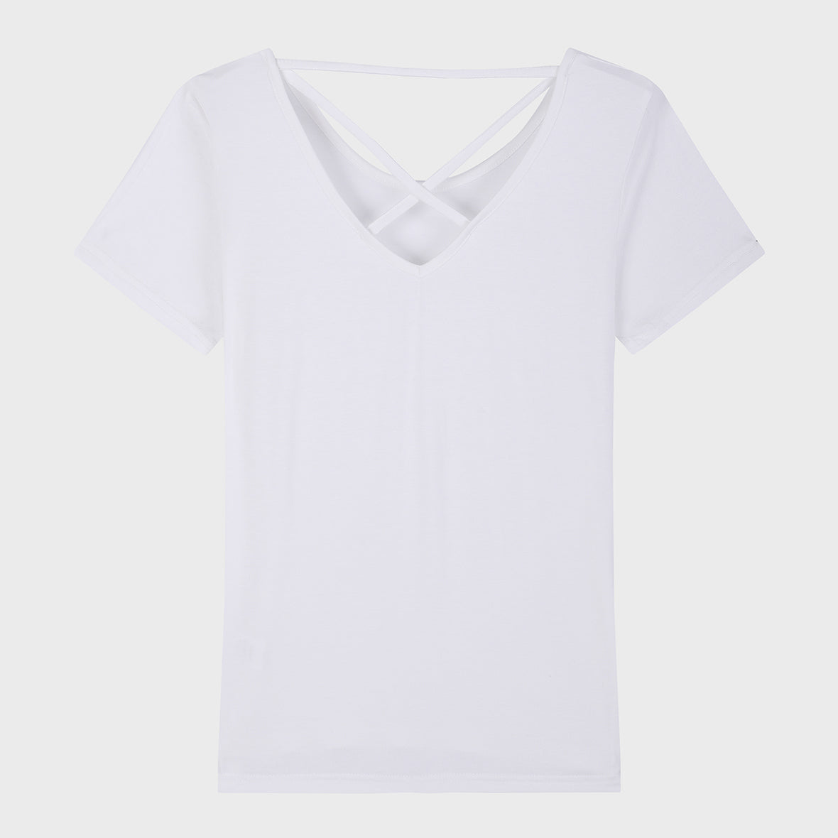 Soft Modal Crossback Tee