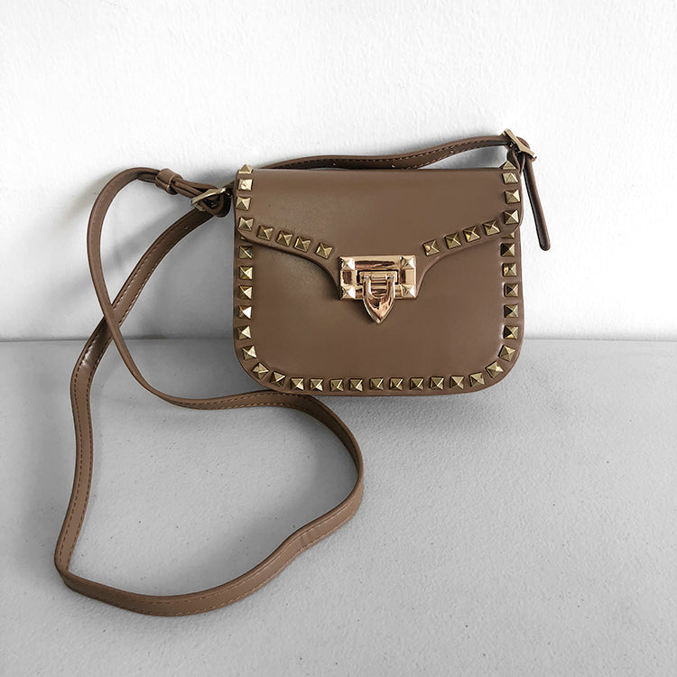 Vive studded crossbody belt bag *less than perfect