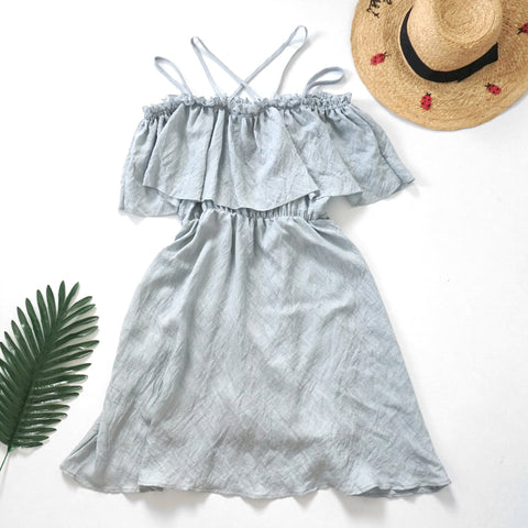 Martha strappy beach dress