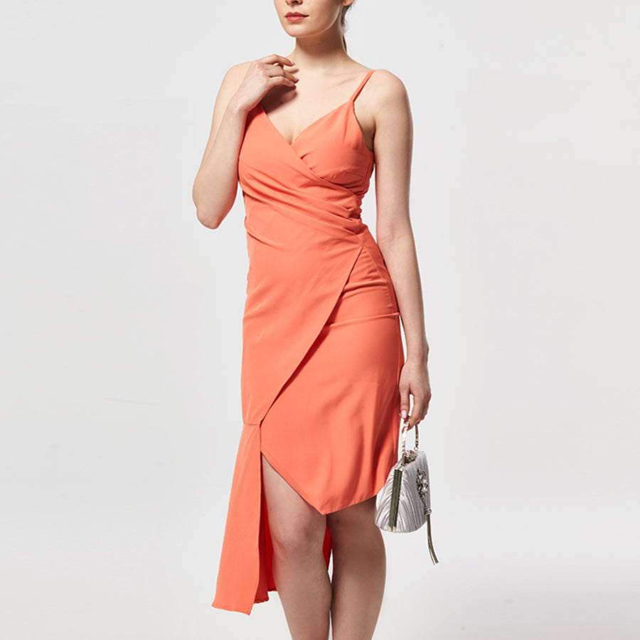 Cecilia asymmetrical dress