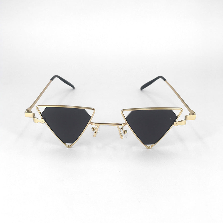 350bee8d8c7 Nevio triangle retro metal frame sunglasses – Fièvre