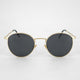 Jared metal rimmed polarized sunglasses