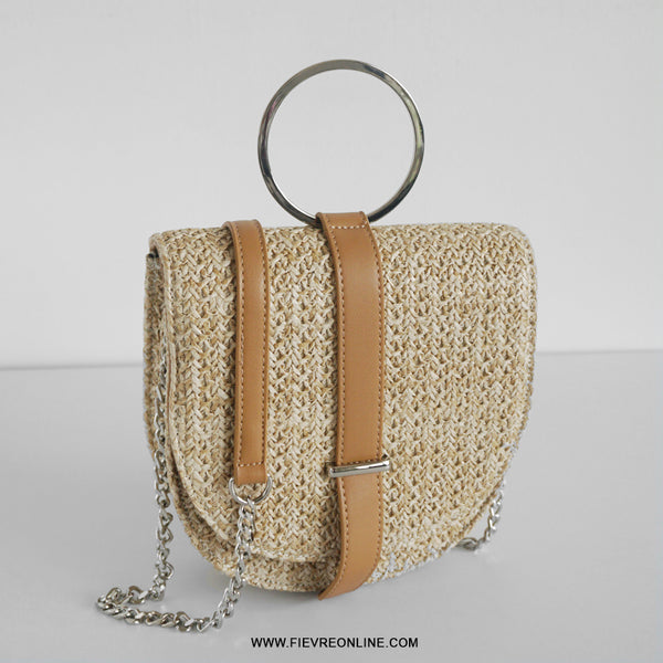 Kaia crossbody straw bag * B1T1