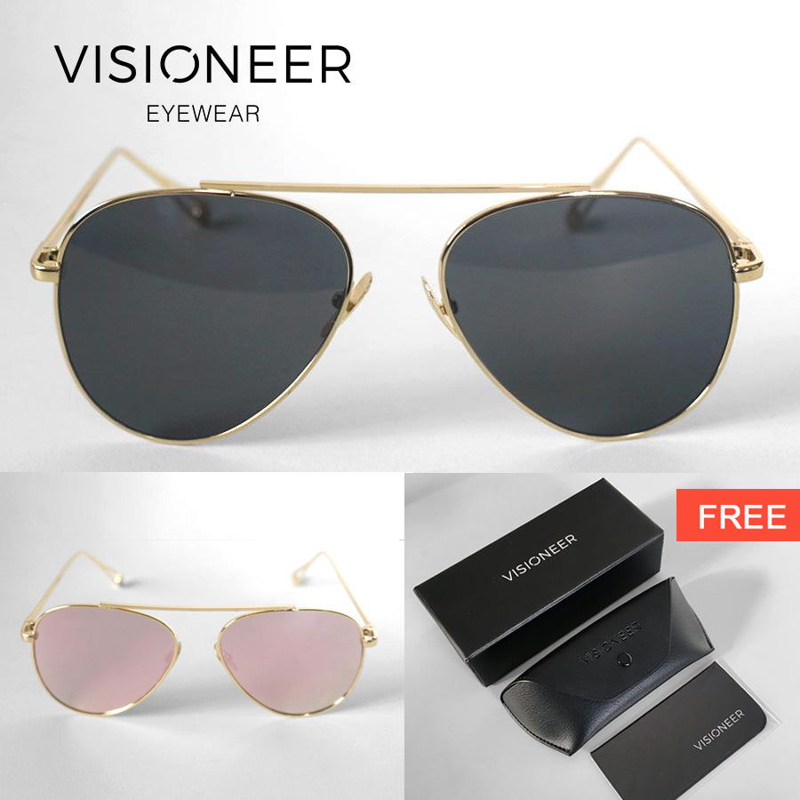 Zion metal frame sunglasses