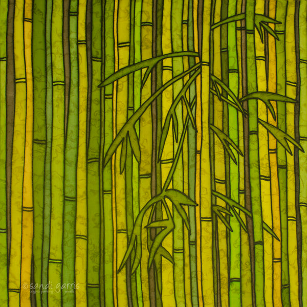 Bamboo Forest 20 x 20