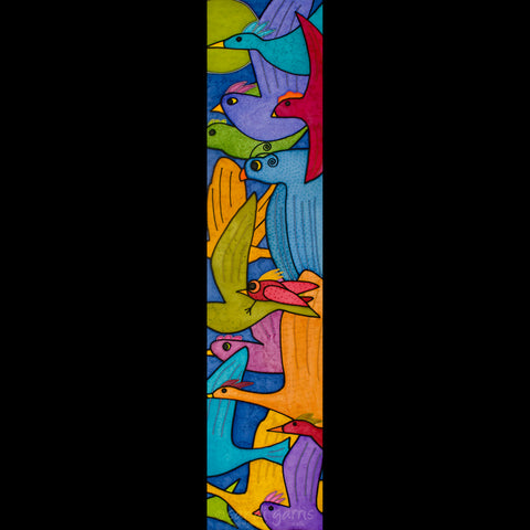Flocking Together  10 x 32